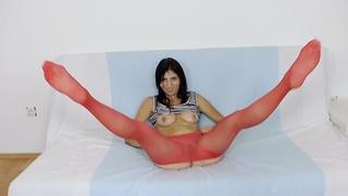 Fernanda Martins nylon fetish