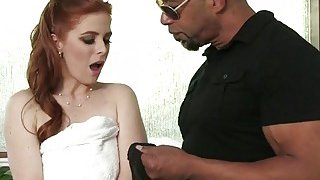 Attractive Redhead Penny Pax Moans While Getting Fucked By Black Stud Shane Diesel